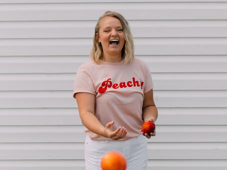 HAPPY NATIONAL PEACH MONTH