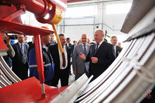 THE OFFICIAL OPENING OF THE PLANT FOR PRODUCTION OF FLEXIBLE PIPES IN INSULATION FOAM SEMIFLEX AND S