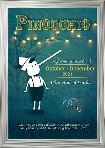 Pinocchio October - December 2021 Frame.