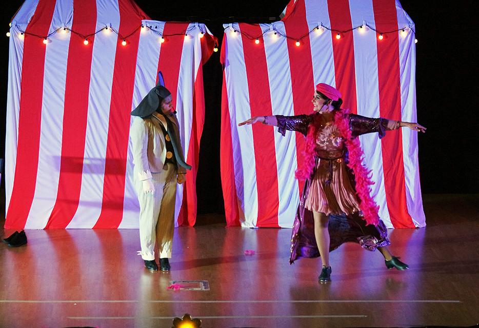 Dumbo and Harriet Tap Dancing