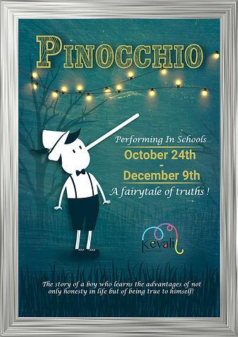 Pinocchio 24th October - 9th December -F
