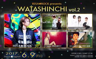 【RISA★ROCK presents WATASHINCHI Vol.2】