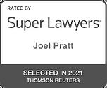Super Lawyers Joel Pratt