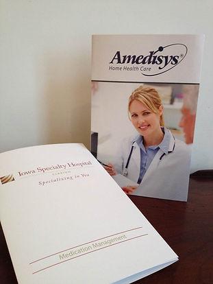 effective reliable patient communication, recordable patient instruction card