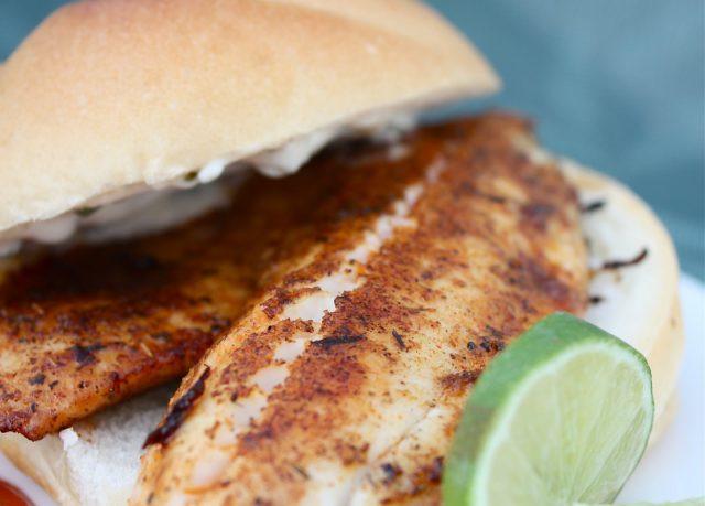 Blackened Fish Sandwiches