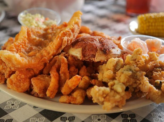 FRIED SEAFOOD PLATTERS