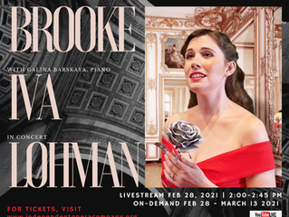 Brooke Iva Lohman in concert with Galina Barskaya