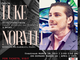 Independent Opera Company Concert series with Luke Norvell