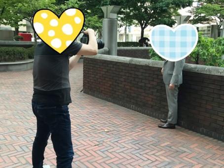 本日は新規会員様と写真撮影!!