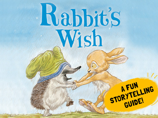 Interactive Storytelling with students!   'Rabbit's Wish' by Paul Stewart and Chris Riddell
