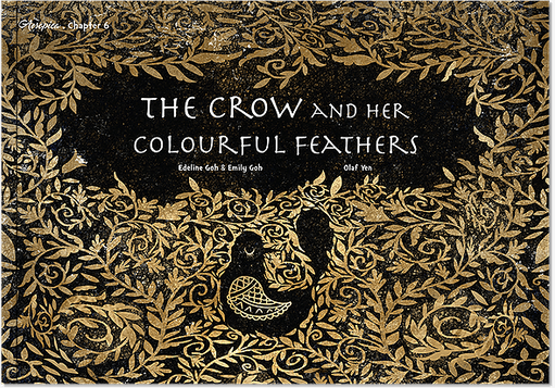 The Crow and Her Colourful Feathers.png