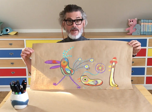 LUNCH DOODLES with Six (6) Emmy Awards Winner  - Mo Willems on YouTube!