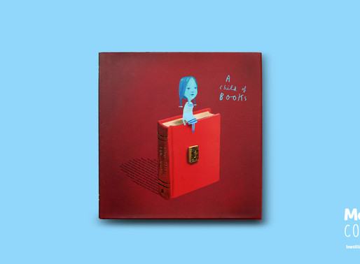 #MeBookoftheMonth November 2018 - A Child of Books by Oliver Jeffers