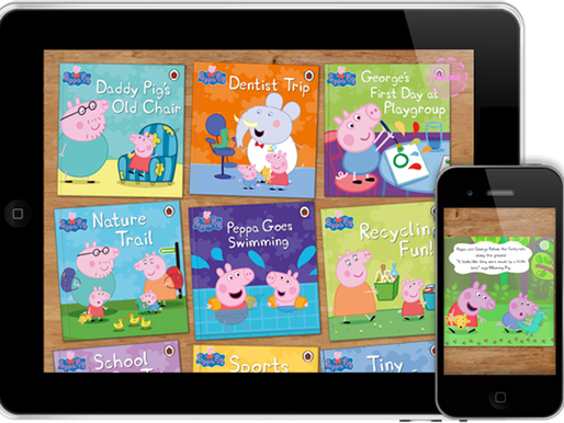 Peppa Pig joins the Me Books family