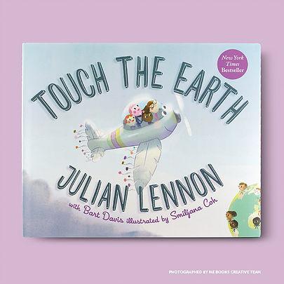Me Books, Touch The Earth, Julian Lennon, Bart Davis, Children's Books