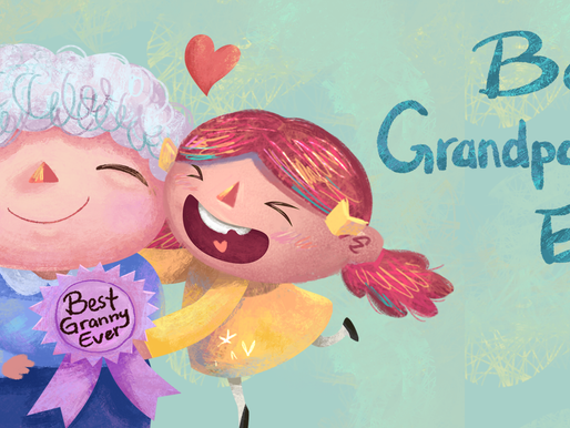 Grandpa and grandma, let's do something together!