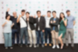 From Left : Stephanie Chooi, Keith Thong, Eric Chin, Dr. Chatichai, Narong Chong, Hao Jin, Evan Yan, Nadia Heng & Jens Schottmann.