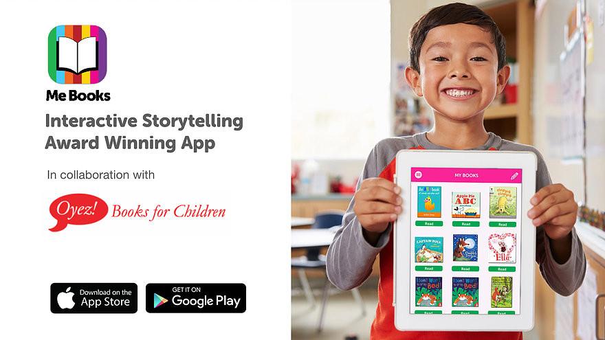 Me Books - Interactive, Storytelling, Application, Award-winning, Kids