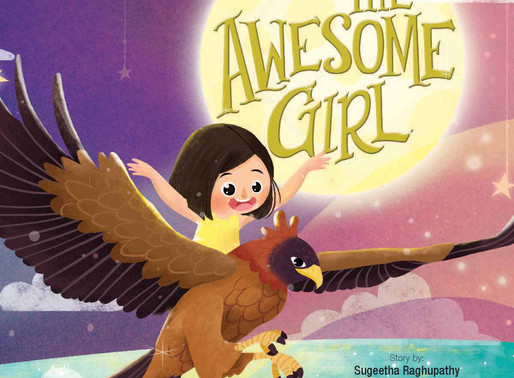 Golden Time With Authoress Sugeetha Raghupathy and her inaugural book 'The Awesome Girl'
