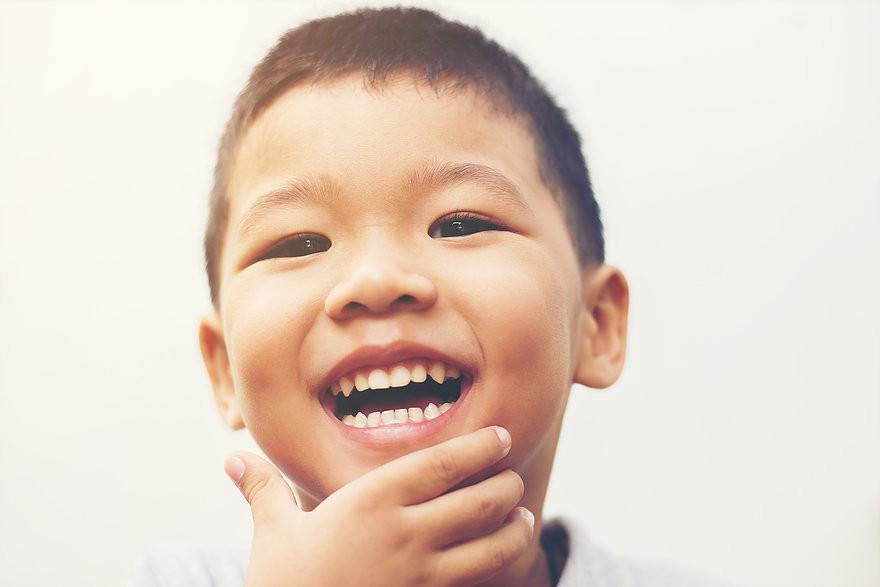 Me Books: children's smiles are priceless.