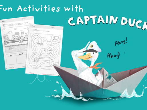 9 Fun Activities with 'Captain Duck' by Jez Alborough