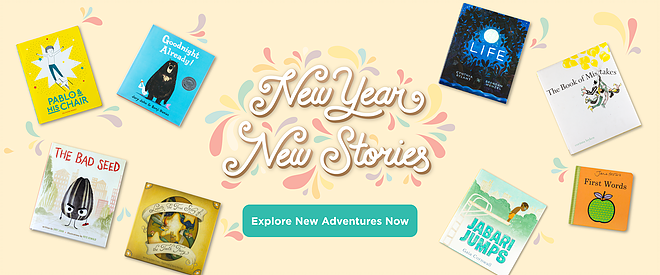 Me Books, New Year, New Stories, Children's Books, Kids