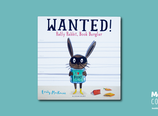 #MeBookoftheMonth September 2018 - Wanted! Ralfy Rabbit, Book Burglar by Emily MacKenzie