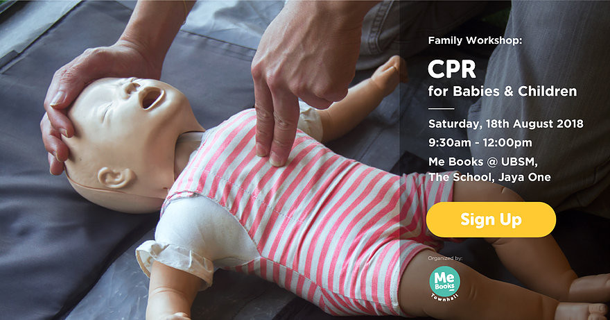 Our Townhall on Saturday the 18th of August is CPR for Babies & Children: Basic Life Support Certification