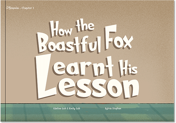 How the Boastful Fox Learnt His Lesson_p