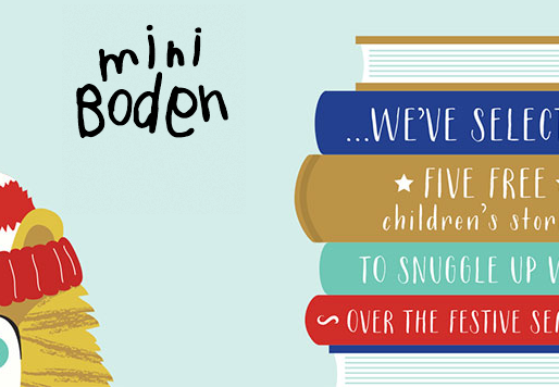 Mini Boden Christmas Me Books campaign is a hit!