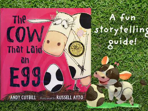 Fun Storytelling with Toddlers!   'The Cow that Laid an Egg' by Andy Cutbill