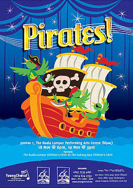 Me Books: Pirates, a wonderful show for the whole family