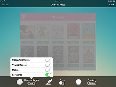 Step-by-step Guided Access for Children - iOS 1