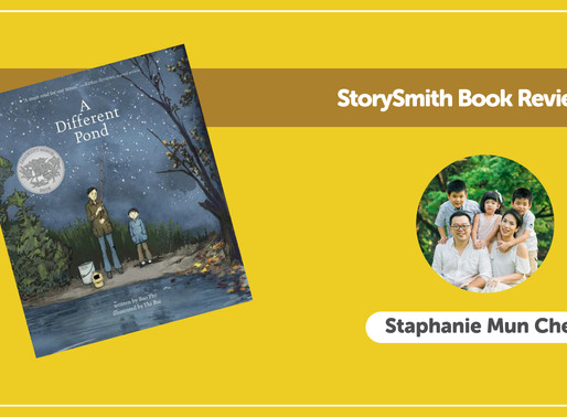 StorySmith Book Review with Staphanie Mun Chen: A Different Pond by Bao Phi