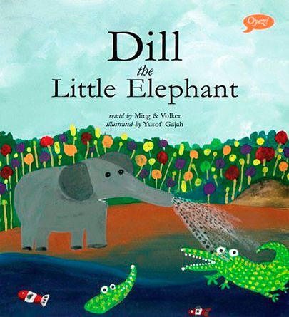 Me Books, Dill the Little Elephant, Ming & Volker, Yusuf Gajah, Children's Books