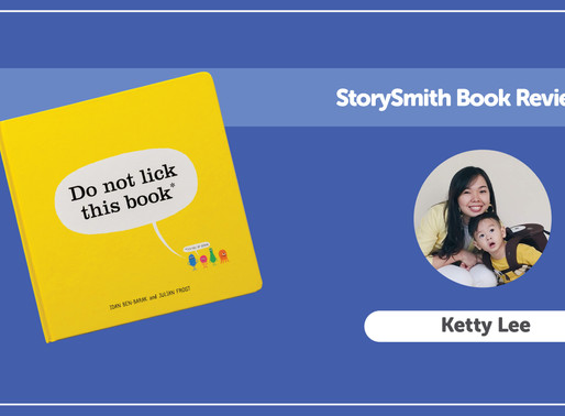 StorySmith Book Review with Ketty Lee: Do Not Lick This Book by Idan bën-Barack and Julian Frost