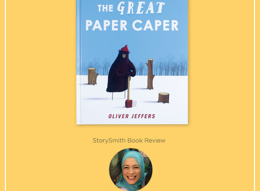 StorySmith Book Review by Sharifah Sofia: The Great Paper Caper by Oliver Jeffers