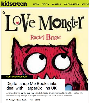 Me Books inks dealswith HarperCollins UK
