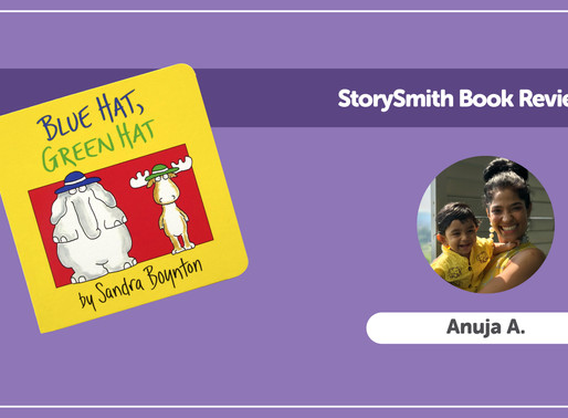 StorySmith Book Review with Anuja A: Blue Hat, Green Hat by Sandra Boynton