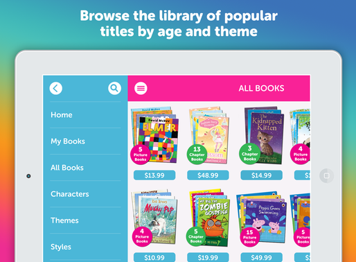 Me Books 3.0, our biggest update ever, is designed for brands, libraries and schools