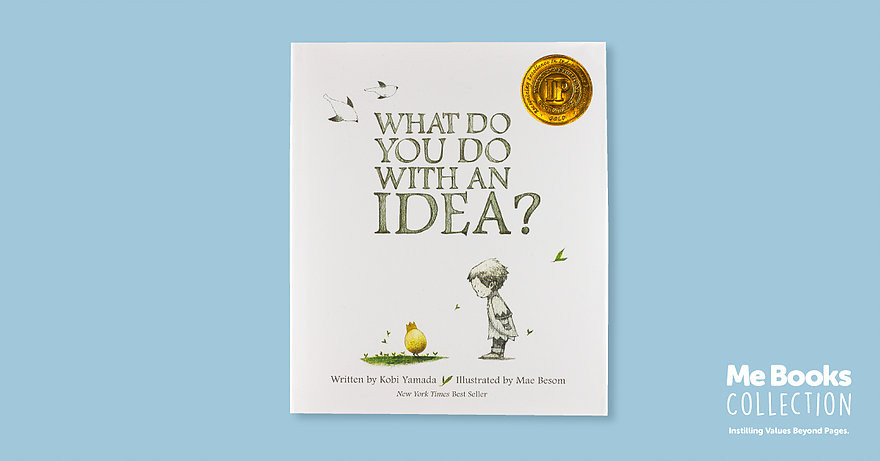 Me Bookds, Children's Books, Kids, Parenting, What Do You Do With An Idea?, Kobi Yamada