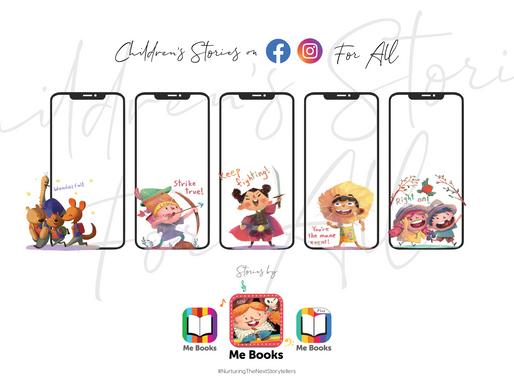 Children's Stories on Facebook and Instagram