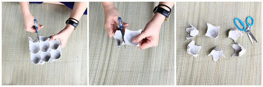 Me Books: grow kids creativity through DIY Upcycled Egg Carton Flowers