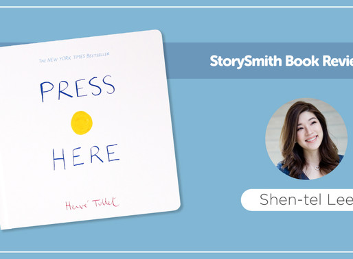 StorySmith Book Review by Shen-tel Lee: Press Here by Hervé Tullet