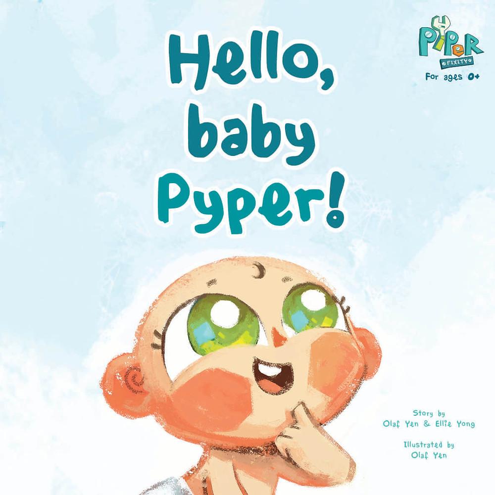 Hello, baby Pyper! me books creations