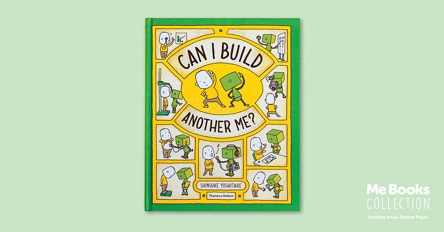 Me Books, Can I Build Another Me?, Children's Books, Storytelling, Picture Books, Shinsuke Yoshitake