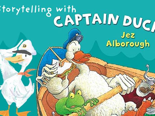 Reinforcing Emotional Intelligence through Storytelling    'Captain Duck' by Jez Alborough