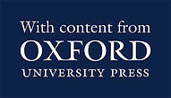With content from OUP, Oxford University Press logo