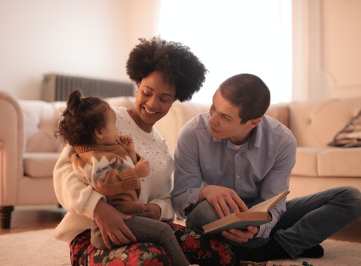 Why Moms and Dads use stories to get their child to talk about their behaviour.