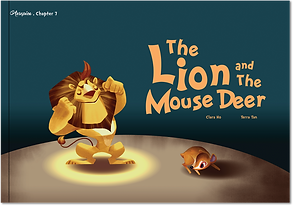 The Lion and The mouse Deer Aesopica Children's Books
